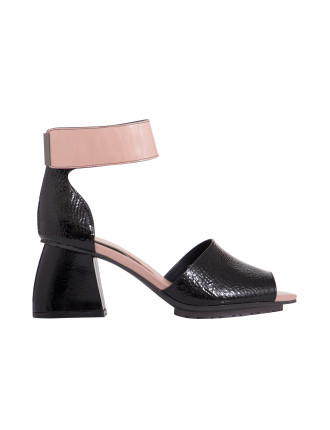 Notion Mid Heel Sandal