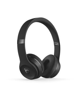 Beats Solo3 Wireless On Ear Headphone Matt Black