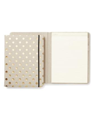 Clothbound Notepad Folio