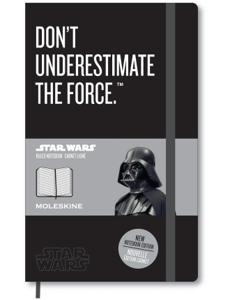 Star Wars - Darth Vader - Large (13X21cm) Ruled Notebook