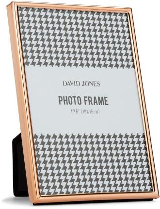 Simple' Metal Photo Frame, 4 x 6'/ 10 x 15 cm