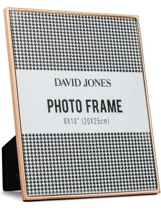 Simple' Metal Photo Frame, 8 x10'/ 20 x 25 cm
