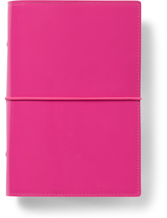 Personal Domino Patent Hot Pink Organiser