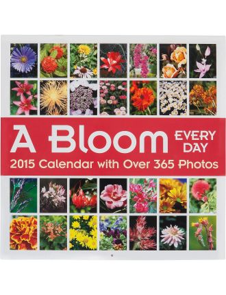 2015 A Bloom Every Day Wall Calendar