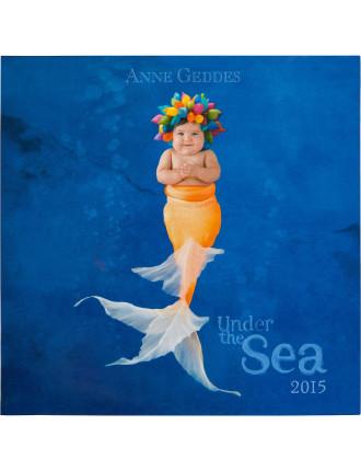 2015 Anne Geddes Under The Sea Wall Calendar