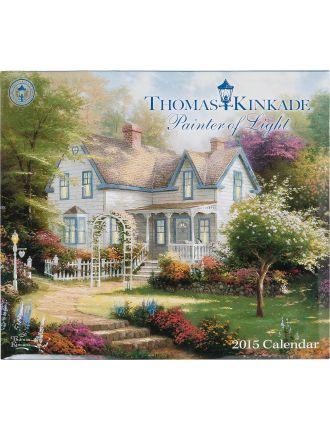2015 T. Kinkade Painter Of Light Deluxe Wall Calendar
