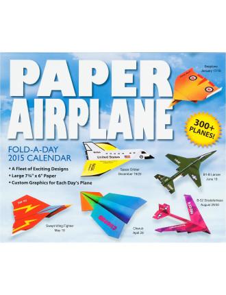 2015 Paper Airplane Dtd Calendar