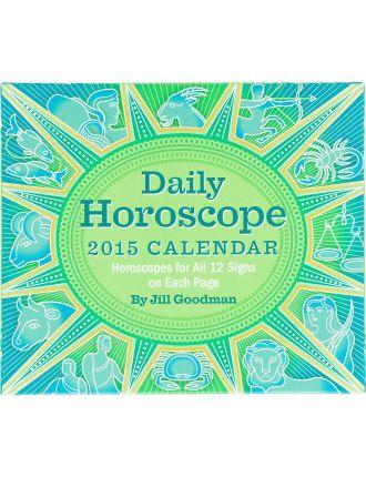 2015 Daily Horoscope Dtd Calendar