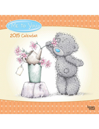 Me To You 2015 Square Wall Calendar