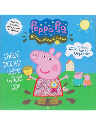 Peppa Pig Organiser 2015 Square 12x12