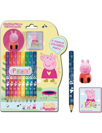 Peppa Pig Coloured Pencils