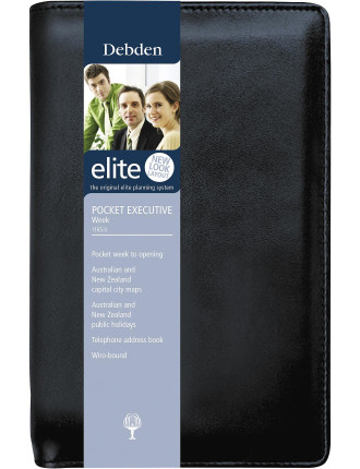 2015 Elite Next Slimline Week to View Diary