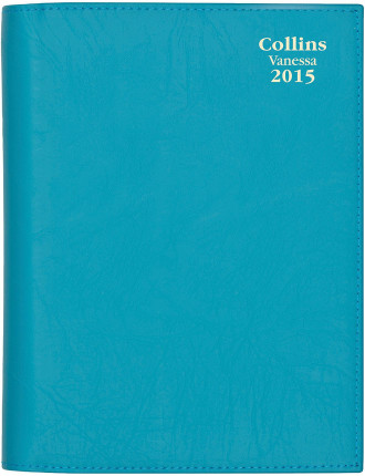 2015 Vanessa Slim Horizontal Week to View Diary