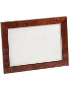 Rich Brown Veneer Photo Frame $27.96
