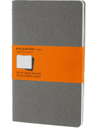 Cahier Set Of 3 Ruled Notebook Large
