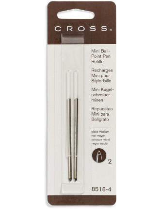 Refills Medium Mini Ballpoiint Pen 2 Pack