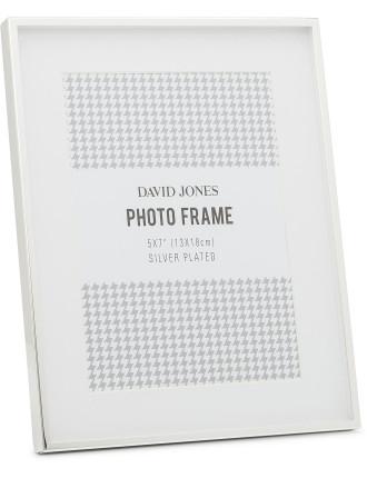 Pure' Metal Photo Frame, 5x7'/ 13 x 18 cm