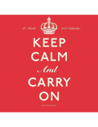 2014 Wall Calendar Keep Calm And Carry On $2.00