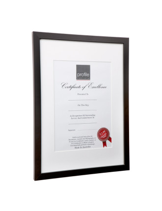 Print and Certificate Timber Photo Frame A4 matted or A3