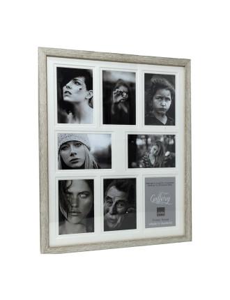 Woodgrain Timber Photo Frame Holds 8 4 x 6' / 10 x 15cm