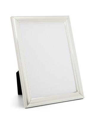 Beaded' Metal Photo Frame, 5 x7'/ 13 x 18 cm