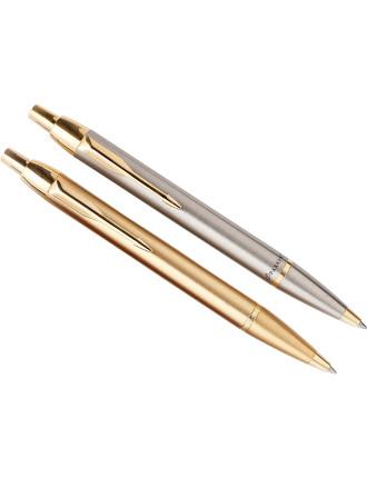 IM Ballpoint Pen Stainless Steel Chrome Trim