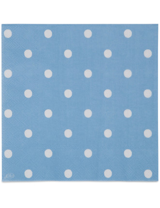 Lunch Napkins - Spot Blue