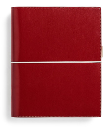 Organiser Domino A5 Red