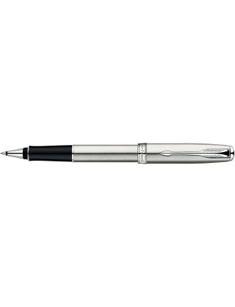 Sonnet Stainless Steel with Chrome Trim Rollerball