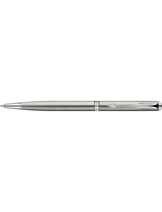 Sonnet Slim Stainless Steel With Chrome Trim Ballpen