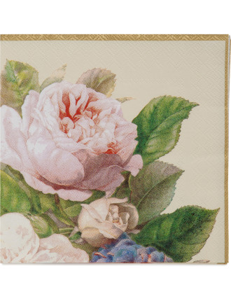 Lunch Napkins - Fairy Rose