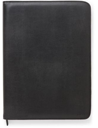 Metropol Zip Folio With Calculator A4 Black