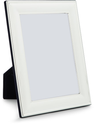 Silver Plated' Metal Photo Frame, 5 x7'/ 13 x 18 cm