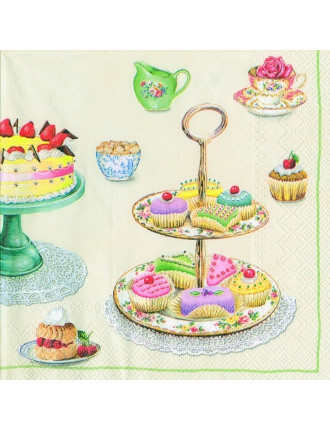 Lunch Napkins - Time For Sweets