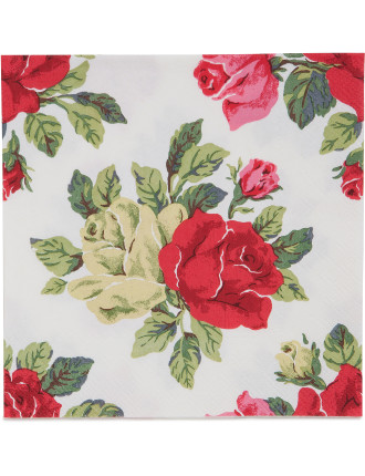 Lunch Napkins - Kidson Royal Roses