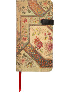 Lyon Florals Filigree Ivory Slim Notebook $19.95