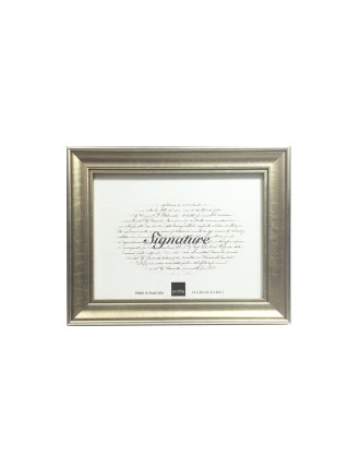 Classic Timber Photo Frame 6 x 8' / 15 x 20cm Gold