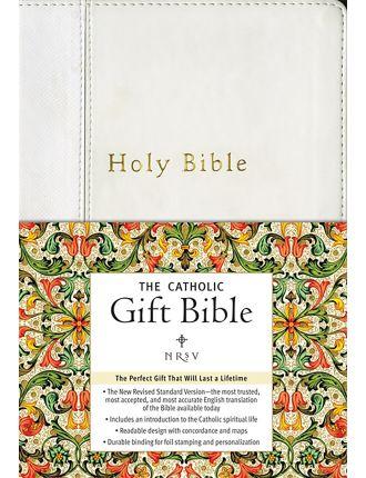 Catholic Gift Bible NRSV