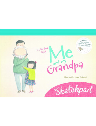 A Little Book About Me & My Grandpa Sketchpad
