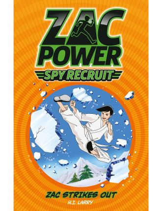 Zac Power Spy Recruit #7 Strikes Out