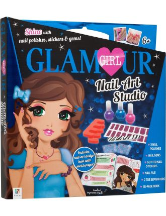 Glamour Girl  Nail Art
