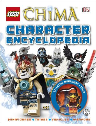 Lego® Legends Of Chima: Character Encyclopedia