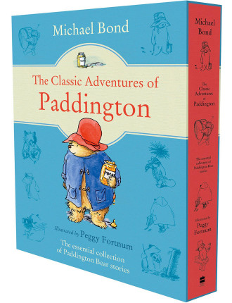 The Classic Adventures Of Paddington Slipcase