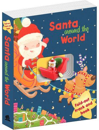 Santa Around The World - Santa'S Sleigh Book & Track