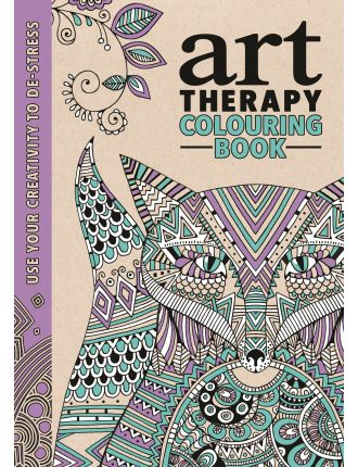 Art Therapy: Art Therapy Colouring Book