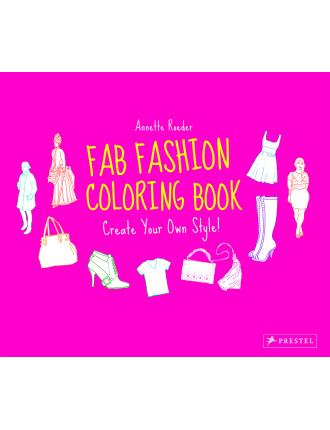 Fab Fashion Colouring Book