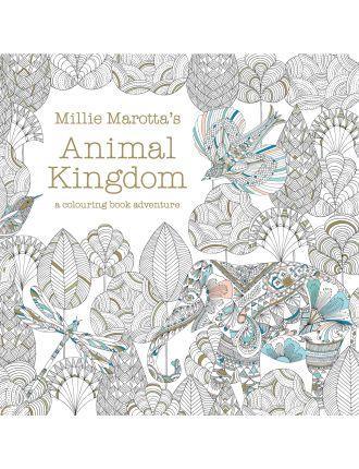 Millie Marotta's Animal Kingdom: Colouring Book