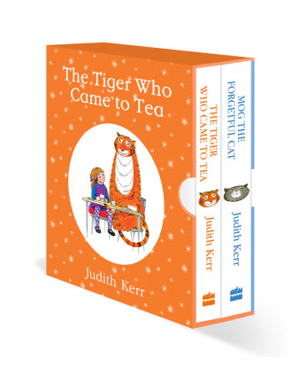 The Tiger Who Came To Tea/Mog Forgetful Cat Box Set