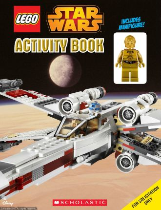 Lego Star Wars Activity Book With Mini Figurine