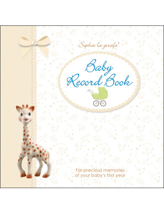 Sophie La Girafe: Sophies Baby Record Book